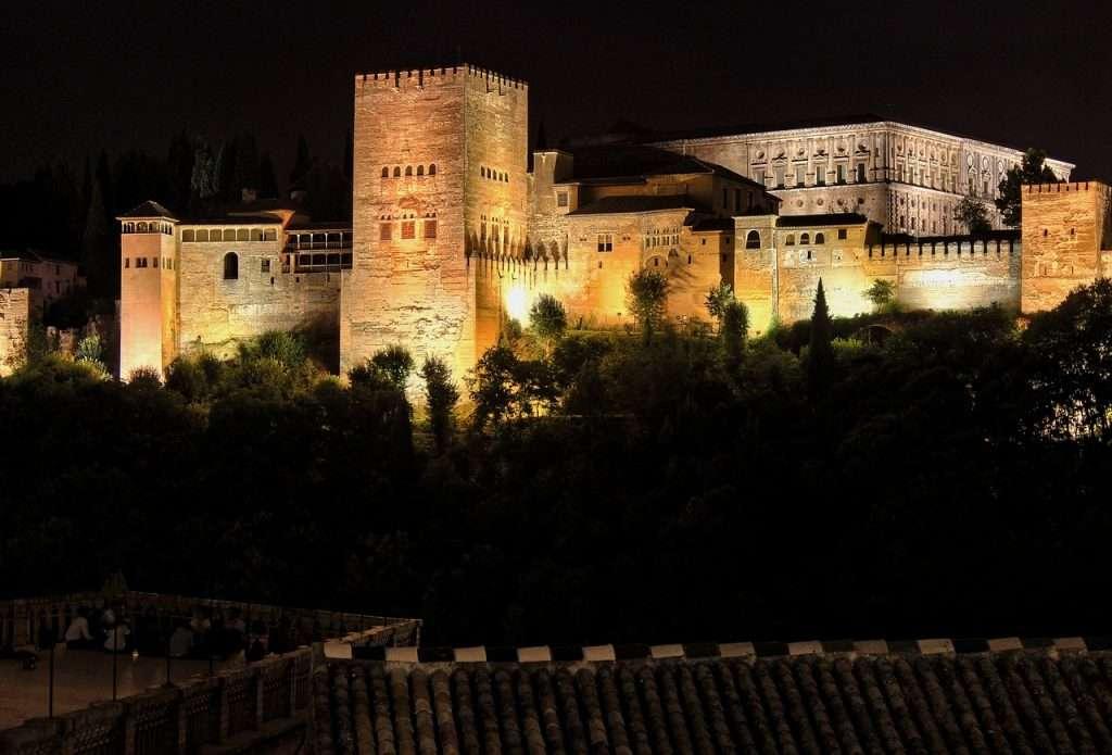 alhambra, granada, palace